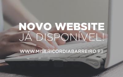 Novo Website da Misericórdia do Barreiro
